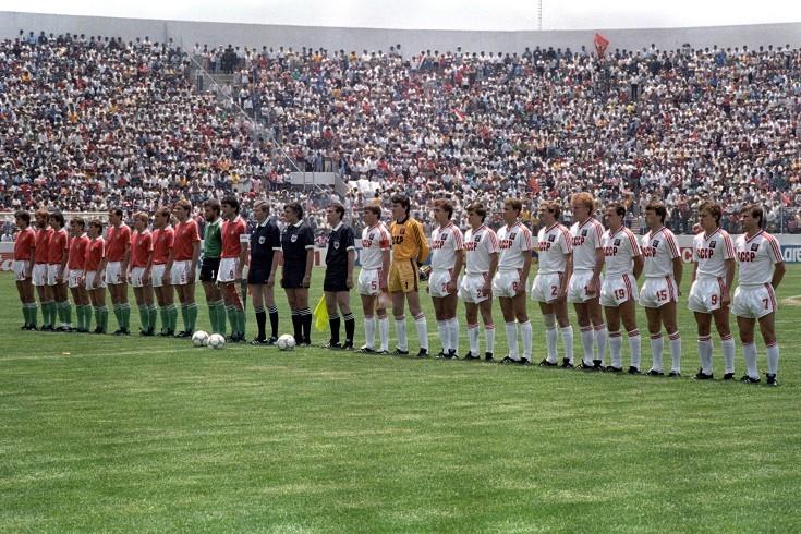 Coupe du Monde 1986 : les Hongrois affrontent les Brésiliens. Dans son groupe, l'Union soviétique et... la France.