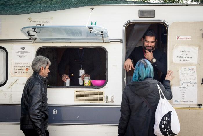 L'arrivée de Diana au Community Center © Jérôme Cid