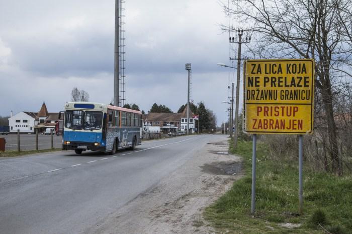 Kelebija, dernier arrêt avant la frontière Serbo-Hongroise © Jérôme Cid