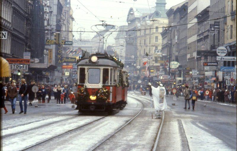 La Mariahilferstraße en 1983, à Vienne.
