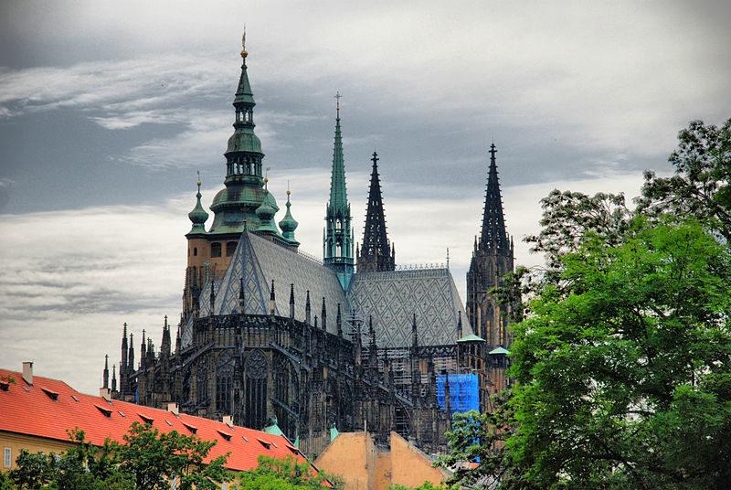 Cathédrale Saint-Guy de Prague - Crédit : Wikimedia Commons, Janmad
