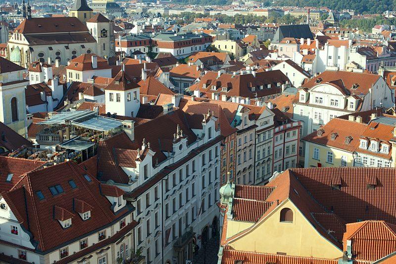 Les ruelles du vieux Prague - Wikimedia Commons